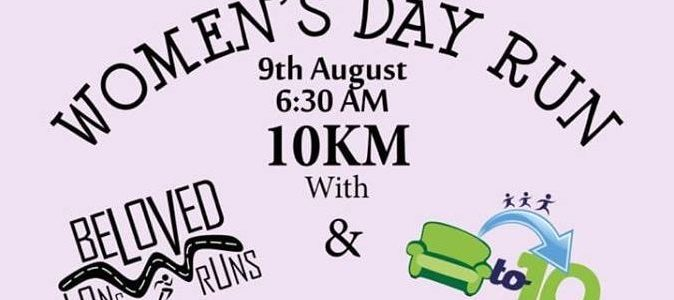 Womens Day Run – 9 August 2018