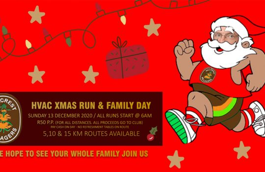 Xmas run & family day 2020